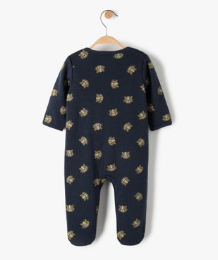 Pyjama bébé garçon avec motifs lionceaux vue3 - GEMO(BB COUCHE) - GEMO