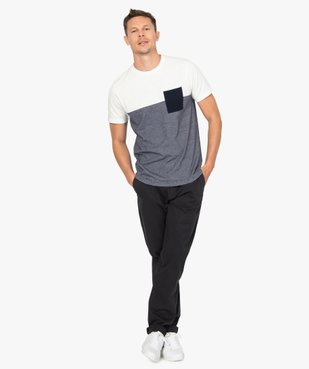 Pantalon homme chino stretch en maille piquée vue5 - Nikesneakers (HOMME) - Nikesneakers