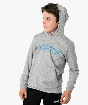 Sweat garçon à capuche avec poche kangourou - Adidas vue1 - ADIDAS - GEMO