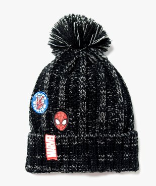 Bonnet chiné avec pompon - Spiderman vue1 - SPIDERMAN - GEMO