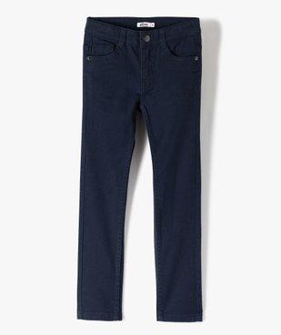 Pantalon garçon uni coupe Slim extensible  vue1 - Nikesneakers (ENFANT) - Nikesneakers