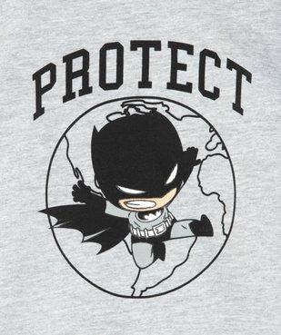 Tee-shirt bébé garçon à manches courtes - Justice League imprimé Batman vue2 - DC COMICS - GEMO