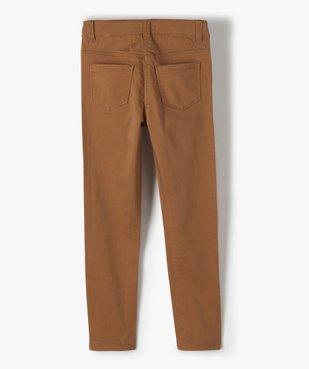 Pantalon fille coupe slim avec fleurs brodées vue6 - Nikesneakers (ENFANT) - Nikesneakers