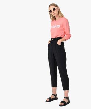 Sweat femme léger avec imprimé XXL - Adidas vue5 - ADIDAS - GEMO