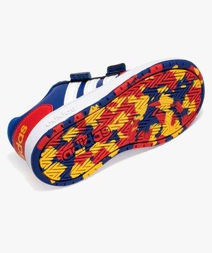 Baskets garçon multicolores à scratch – Adidas Hoops 2.0 vue6 - ADIDAS - Nikesneakers