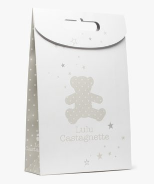 Pochette cadeau bébé en papier recyclé - LuluCastagnette vue1 - LULU CASTAGNETT - GEMO