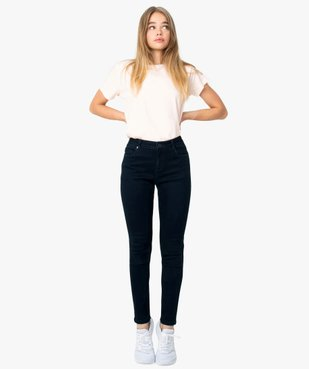 Jean femme coupe skinny 5 poches vue1 - GEMO(FEMME PAP) - GEMO