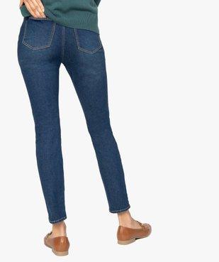 Jean femme coupe Slim extensible vue3 - GEMO C4G FEMME - GEMO