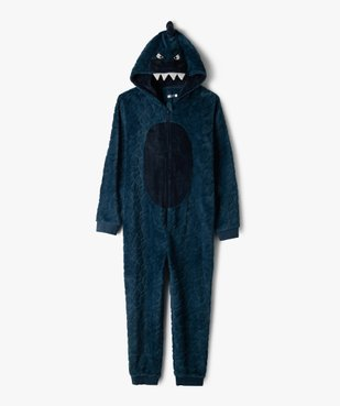Combinaison pyjama garçon avec motif dragon vue1 - GEMO (JUNIOR) - GEMO