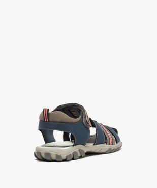 Sandales garçon à brides multiples et fermeture scratch vue4 - Nikesneakers (ENFANT) - Nikesneakers