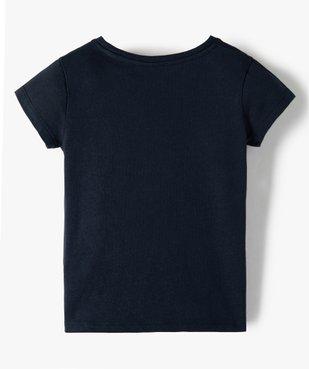 Tee-shirt fille à manches courtes imprimé Disney - Les 101 Dalmatiens vue3 - DISNEY DTR - GEMO