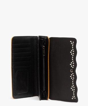 Portefeuille femme à rabat ajouré vue3 - Nikesneakers (ACCESS) - Nikesneakers