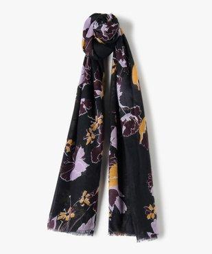 Foulard femme grandes dimensions à motif fleuri vue1 - Nikesneakers (ACCESS) - Nikesneakers