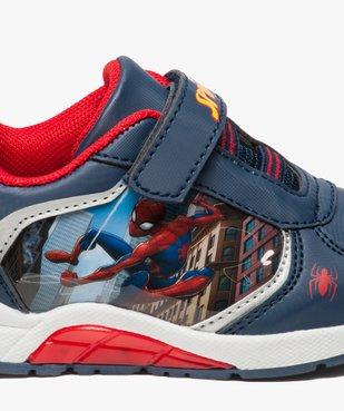 Baskets garçon en toile avec semelle clignotante et motif Spiderman  vue6 - SPIDERMAN - GEMO
