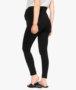 Pantalon de grossesse en maille style legging avec ceinture croisée vue3 - Nikesneakers (MATER) - Nikesneakers
