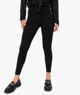 Leggings femme avec zip décoratifs sur l'avant vue1 - Nikesneakers(FEMME PAP) - Nikesneakers