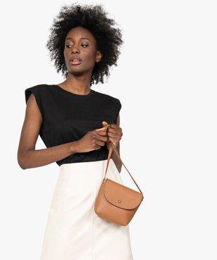 Sac besace femme petit format design minimaliste vue1 - GEMO (ACCESS) - GEMO