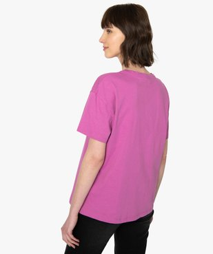 Tee-shirt femme oversize avec motif XXL - Disney vue3 - DISNEY DTR - Nikesneakers