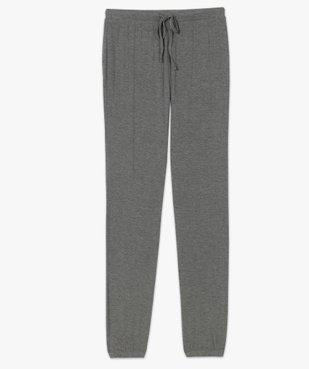 Pantalon de pyjama femme en maille fine avec bas resserré vue4 - Nikesneakers(HOMWR FEM) - Nikesneakers