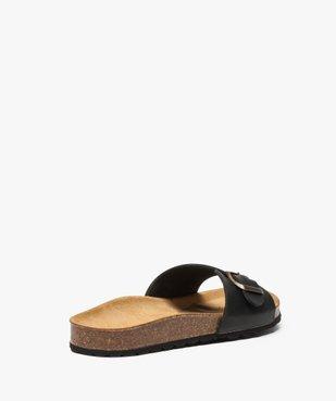 Sandales homme avec large bride à boucle vue4 - GEMO (CASUAL) - GEMO