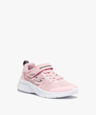 Baskets fille en mesh spécial running - Skechers Microspec vue2 - SKECHERS - GEMO