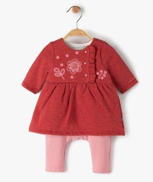 Combinaison bébé fille effet 2-en-1 - Sucre d'Orge vue1 - SUCRE D'ORGE - Nikesneakers