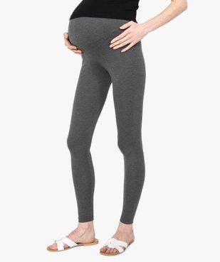 Legging de grossesse long uni vue1 - GEMO (MATER) - GEMO