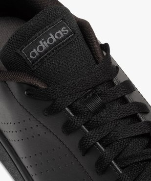 Tennis homme unies à lacets – Adidas Advantage Base vue6 - ADIDAS - GEMO
