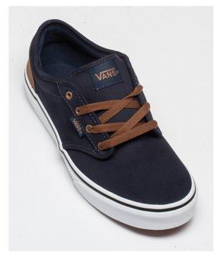 Tennis garçon en toile à lacets – Vans Atwood vue5 - VANS - Nikesneakers