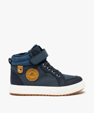 Boots garçon unies à col rembourré et doublure douce vue1 - Nikesneakers (ENFANT) - Nikesneakers