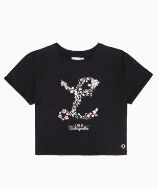Tee-shirt fille avec motif scintillant – Lulu Castagnette vue2 - LULUCASTAGNETTE - GEMO