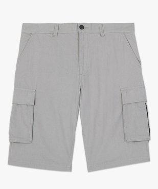 Bermuda homme avec larges poches à rabat vue4 - GEMO (HOMME) - GEMO