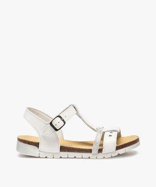 Sandales fille dessus cuir à semelle crantée - Bopy vue1 - BOPY - GEMO
