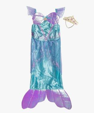 Déguisement enfant La petite sirène - Disney (2 pièces) vue1 - DISNEY - GEMO