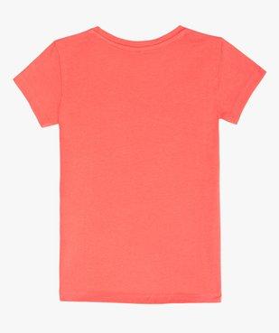 Tee-shirt fille à message pailleté - GEMO x Les Vilaines filles vue3 - VILAINES FILLES - GEMO