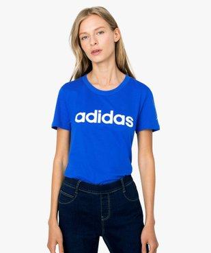 Tee-shirt femme à manches coutes - Adidas vue1 - ADIDAS - GEMO