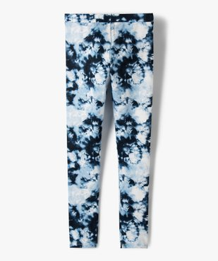 Leggings fille imprimé tie and dye vue3 - GEMO (JUNIOR) - GEMO