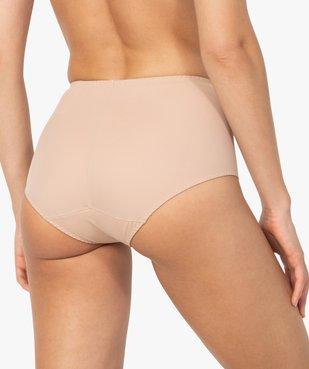 Culotte femme taille haute effet ventre plat - DIM vue3 - DIM - GEMO