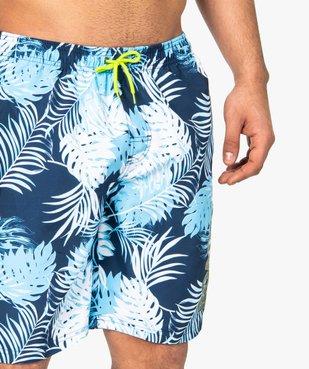 Short de bain homme motif tropical - Roadsign vue5 - ROADSIGN - GEMO