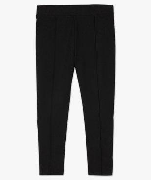 Pantalon femme avec bas zippé vue4 - GEMO (G TAILLE) - GEMO
