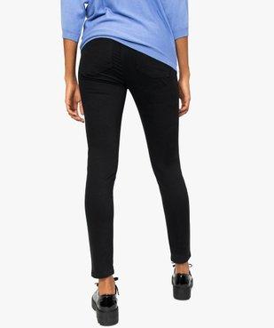 Pantalon femme coupe slim effet push-up vue3 - GEMO(FEMME PAP) - GEMO