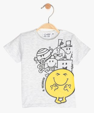 Tee-shirt bébé garçon imprimé - Monsieur Madame vue1 - MONSIEUR MADAME - GEMO