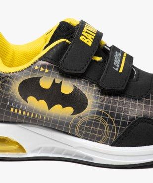Baskets garçon à scratch et semelle lumineuse - Batman vue6 - BATMAN - GEMO