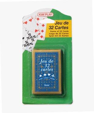 Jeu de cartes 32 Cartes vue1 - KIM PLAY - GEMO