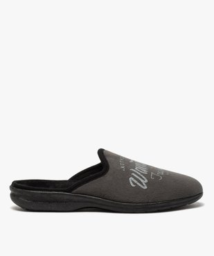 Chaussons homme mules confort en velours ras vue1 - Nikesneakers(HOMWR HOM) - Nikesneakers