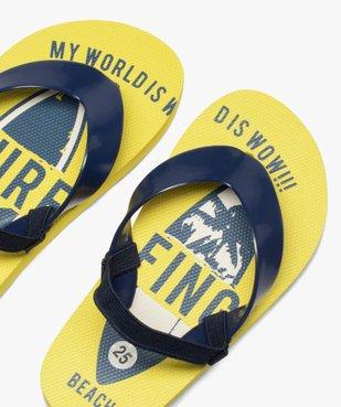 Tongs garçons semelle imprimée surf et bride élastiquée vue3 - Nikesneakers (ENFANT) - Nikesneakers