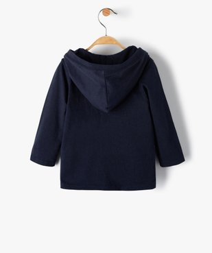 Tee-shirt bébé garçon à capuche – Lulu Castagnette vue4 - LULUCASTAGNETTE - GEMO
