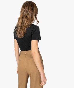 Tee-shirt femme pour le sport - Adidas vue3 - ADIDAS - GEMO