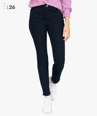 Jean femme slim à taille haute ultra stretch - L26 vue1 - GEMO(FEMME PAP) - GEMO