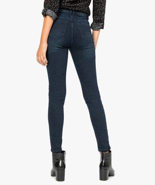 Jean femme skinny taille haute super stretch vue3 - GEMO(FEMME PAP) - GEMO
